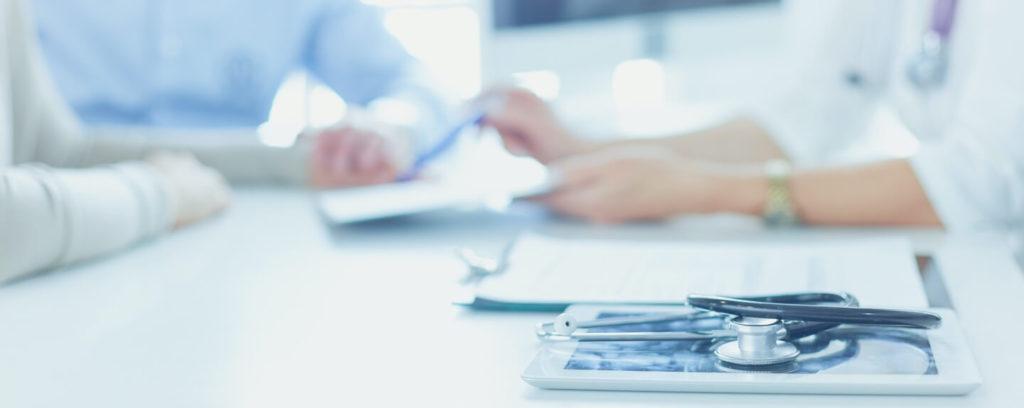 Beratungsgespräch zur Überischt der Diagnostik